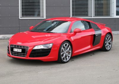 Audi R8 Rot
