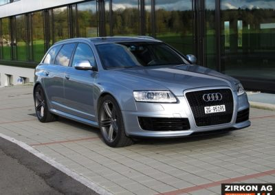 Audi RS6 b8 Avant 5.0 V10 silver (2)