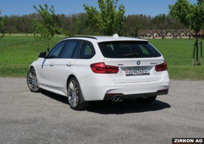 BMW 320d xDrive Touring white (8)