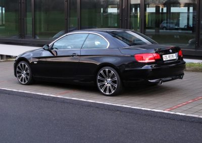BMW 335i Cabriolet black (5)
