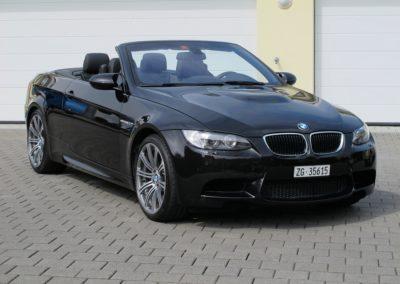 BMW M3 Cabriolet black (1)