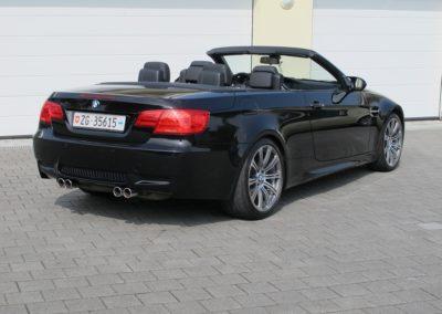 BMW M3 Cabriolet black (6)