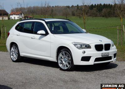 BMW X1 25d xDrive white (6)