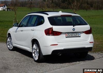 BMW X1 25d xDrive white (8)