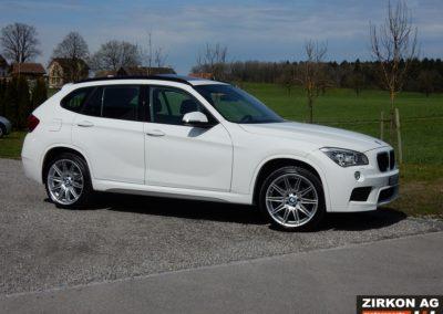 BMW X1 25d xDrive white (9)