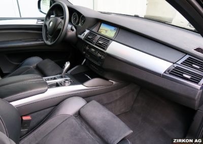 BMW X6 M50d black (8)