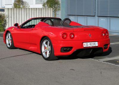 Ferrari F360 spider automatica red (10)