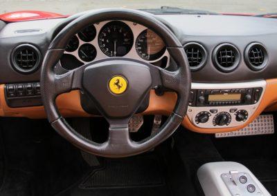 Ferrari F360 spider automatica red (13)