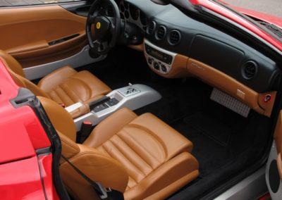 Ferrari F360 spider automatica red (15)