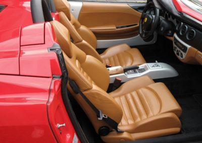 Ferrari F360 spider automatica red (16)