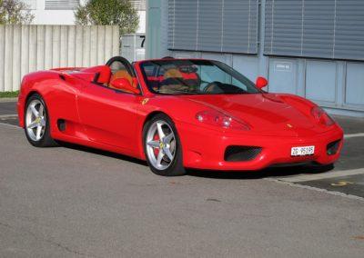 Ferrari F360 spider automatica red (2)