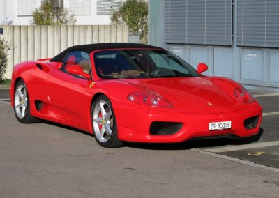 Ferrari F360 spider automatica red (3)