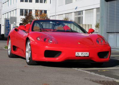 Ferrari F360 spider automatica red (4)