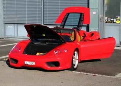 Ferrari F360 spider automatica red (5)
