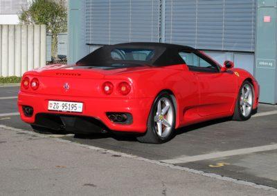 Ferrari F360 spider automatica red (7)