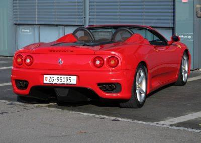 Ferrari F360 spider automatica red (8)