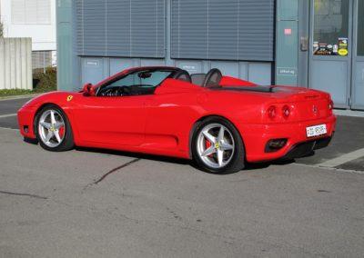 Ferrari F360 spider automatica red (9)