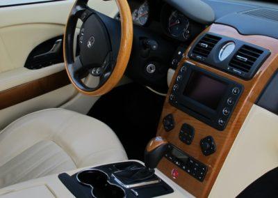 Maserati Quattroporte 4.2 black (9)