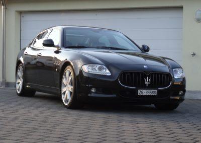 Maserati Quattroporte 4.2 black black (1)