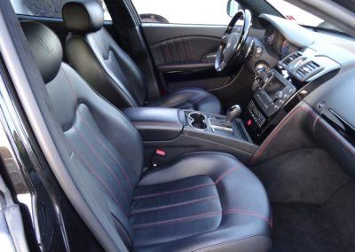 Maserati Quattroporte 4.2 black black (11)
