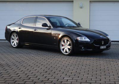 Maserati Quattroporte 4.2 black black (2)