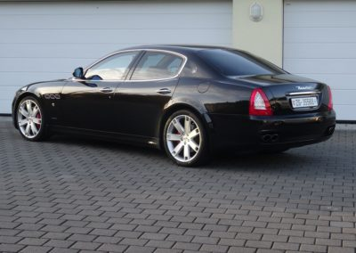 Maserati Quattroporte 4.2 black black (6)