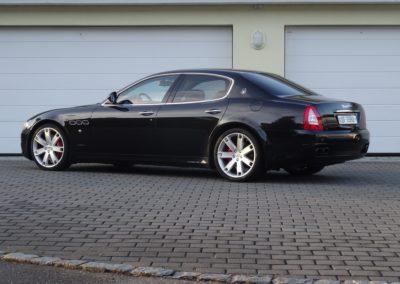 Maserati Quattroporte 4.2 black black (7)