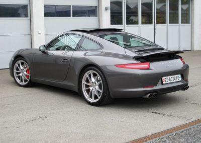 Porsche Carrera S grey (10)