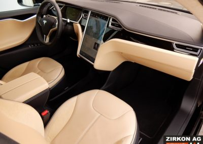 Tesla Model S 85P black beige (12)