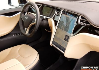 Tesla Model S 85P black beige (13)