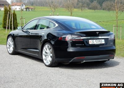 Tesla Model S 85P black beige (4)