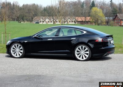 Tesla Model S 85P black beige (5)