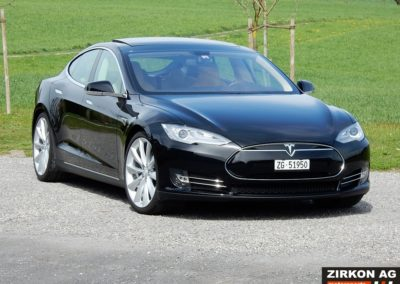 Tesla Model S 85P black beige (6)