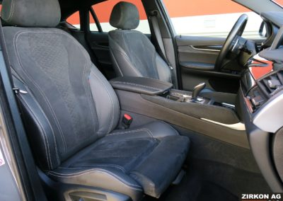 BMW X6 M50d F16 grau 12
