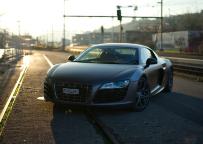 Audi R8 V10 manual shift
