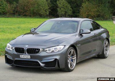 BMW M4 Coupe mineralgrau 01