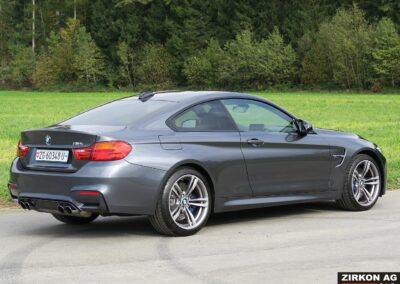 BMW M4 Coupe mineralgrau 16