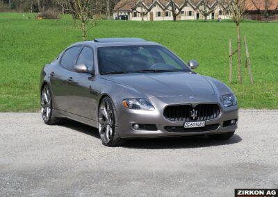 Maserati Quattroporte GTS grigio 1 (1)