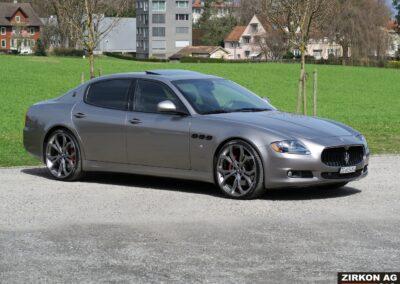 Maserati Quattroporte GTS grigio 1 (4)
