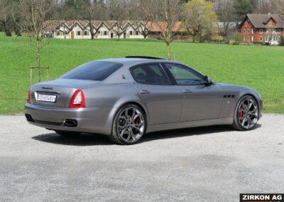 Maserati Quattroporte GTS grigio 1 (6)